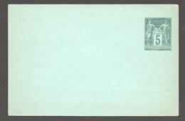 Enveloppe Type Sage  116 X 76mm   5 Cent Vert Sur Vert   Yv 75- E2  Neuve - Postal Stamped Stationery