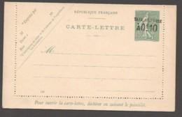 Carte-lettre  Type Semeuse Lignée 15 Cent Avec Surcharge  Date 448  Yv 130-CL2 - Entiers Postaux