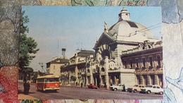 UKRAINE. CHERNIVTSI. RAILWAY STATION - Old Postcard  1968 - LA GARE - BAHNHOF - - Estaciones Sin Trenes