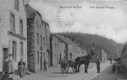 Comblain-la-Tour - Une Rue Du Village (top Animation, Attelage Cheval, Edit Desaix 1909) - Hamoir