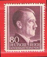 MiNr.85 Xx Deutschland Besetzungsausgaben II. Weltkrieg Generalgouvernement - Occupation 1938-45