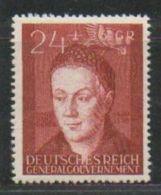 MiNr.97 Xx Deutschland Besetzungsausgaben II. Weltkrieg Generalgouvernement - Besetzungen 1938-45