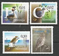 SI 2018-15 BIRDS , SLOVENIA, 1 X 4v, MNH - Slowenien