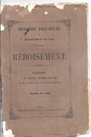 SITUATION FORESTIERE DU DEPARTEMENT DU VAR- REBOISEMENT-1852 - Other