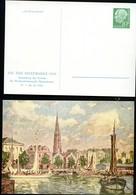 """Bund PP8 D2/002 TAG DER BRIEFMARKE GEMÄLDE """"BREMERHAVEN"""" 1956  NGK 15,00€ - Privatpostkarten - Ungebraucht"""