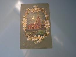 Neujahr  .. Kirche Blumen .. - Neujahr