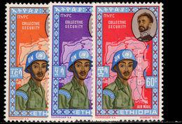 Ethiopia 1962 Ethiopian Troops In Congo Unmounted Mint. - Ethiopia