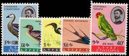 Ethiopia 1967 Ethiopian Birds Unmounted Mint. - Ethiopia