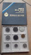 REPUBLICA DI SAN MARINO- 9 MONETE DELLO STATO SERIE 1977-LIRE 500 ARGENTO - San Marino