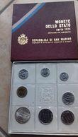 REPUBLICA DI SAN MARINO- 8 MONETE DELLO STATO SERIE 1975-LIRE 500 ARGENTO - San Marino