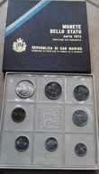 REPUBLICA DI SAN MARINO- 8 MONETE DELLO STATO SERIE 1974-LIRE 500 ARGENTO - San Marino