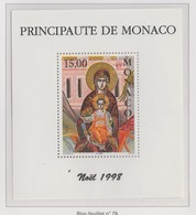 Monaco Bloc N° 79 ** Noël 1998 - Blocks & Kleinbögen