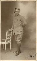 CARTE PHOTO SOLDAT 14-18  PHOTO STUDIO PARIS - Guerre 1914-18