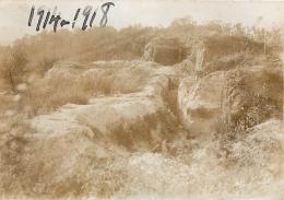 PHOTO ORIGINALE  GUERRE 14/18 TRANCHEE  FORMAT  9 X 6 CM - War, Military
