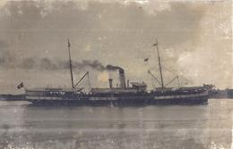BATEAU A VAPEUR   CARTE PHOTO - Schiffe