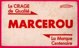 BUVARD - Le Cirage De Qualité MARCEROU - La Marque Centenaire - UNIS FRANCE - Shoes