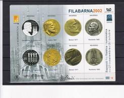 GAUDI A LA FILATELIA I LA NUMISMASTICA. FILABARNA 2002. VIÑETAS CINDERELLAS - BLEUP - 1931-Today: 2nd Rep - ... Juan Carlos I