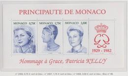 Monaco Bloc N° 89 ** Hommage à Grace - Blocks & Kleinbögen