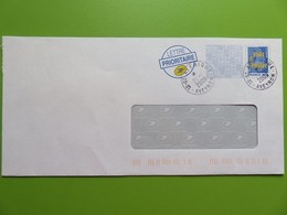 Prêt à Poster - PAP Enveloppe Logo Bleu FRANCE 20 G - Tampon Rond St Affrique (Aveyron) - 2009 - Biglietto Postale