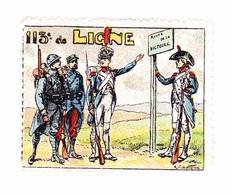 Vignette Militaire Delandre - 113ème Régiment D'infanterie - Military Heritage