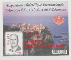 Monaco Bloc N° 94 ** MonacoPhil 2009 - Blocks & Kleinbögen