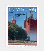 LATVIA LETTLAND 2018 - Ragaciema - SEA LIGHTHOUSE , Beacon  MNH - Lighthouses