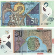 MACEDONIA. New 50 Denari   Dated  2018   Polimer   Pnew    UNC. - Macedonia