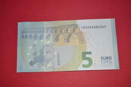 5 EURO Y006F1 GREECE Y006 F1 - DRAGHI - YA5222606345 - NEUF FDS UNC - EURO
