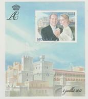 Monaco Bloc N° 100 ** Mariage Princier - Blocks & Kleinbögen