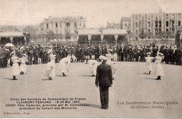 Clermont-Ferrand - Union Des Sociétés De Gymnastique De France, 1907 (Institutrices De Gênes) - Clermont Ferrand