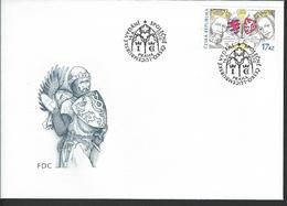 Czech Republic. Scott # 3457 FDC. 70th. Anniv. Accession To Throne. Joint Issue With Luxemburg 2010 - Gezamelijke Uitgaven
