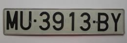 Plaque D'immatriculation - Espagne - - Plaques D'immatriculation