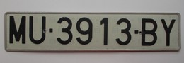 Plaque D'immatriculation - Espagne - - Number Plates