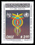 Chile, 1981, World Telecommunication Day, ITU, United Nations, MNH, Michel 954 - Chile