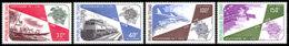 Chad, 1974, UPU Centenary, Universal Postal Union, United Nations, MNH, Michel 704-707 - Chad (1960-...)