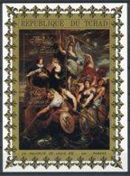 Chad, 1972, French Royals, Rubens Painting, MNH, Michel Block 33 - Tsjaad (1960-...)