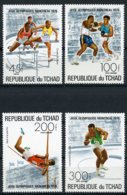 Chad, 1976, Olympic Summer Games Montreal, MNH, Michel 742-745A - Chad (1960-...)