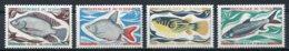 Chad, 1969, Fish, Animals, MNH, Michel 282-285 - Tsjaad (1960-...)