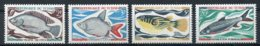 Chad, 1969, Fish, Animals, MNH, Michel 282-285 - Chad (1960-...)