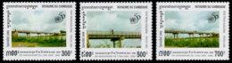 Cambodia, 1995, United Nations 50th Anniversary, MNH, Michel 1538-1540 - Cambodia