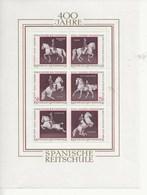 Ecole D'équitation-400 Ans). - Blocs & Feuillets