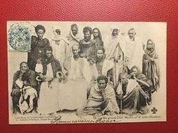N 58  Un Grand Chef Maure Et Sa Suite  (soudan)   Annuaire Colonial - Soudan