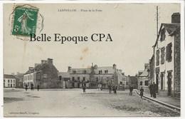 22 - LANVOLLON - Place De La Poste +++ Collection Hamon, Guingamp +++ 1908 - Lanvollon