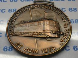 MEDAILLE   SUISSE  Alle 23 Juin  1974 23 Juin1980     Jura - Tokens & Medals
