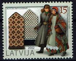 Lettland Letland Latvija 2002 - Trachten Handschuhe - MiNr 579 - Kostüme