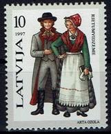 Lettland Letland Latvija 1997 - Trachten - MiNr 451** - Kostüme