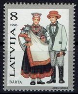 Lettland Letland Latvija 1996 - Trachten - MiNr 424** - Kostüme