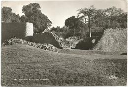 W188 Zimbabwe Ruins - Inside The Temple / Viaggiata 1956 - Zimbabwe