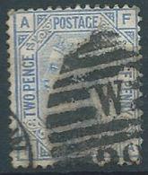 GROSBRITANNIEN GRANDE BRETAGNE GB 1855-84 QUEEN VICTORIA USED 2½D. BLUE PLATE 17 SG 142, MI 51, IV 57, SC 68 - 1840-1901 (Viktoria)