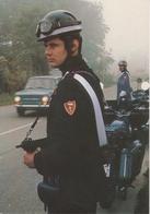 Carabinieri Motociclisti Nel Controllo Della Circolazione Stradale - Uniformi